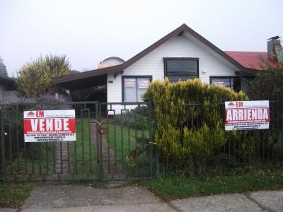 Arriendo de Casa  en Valdivia, sector Centro, Valor UF 45