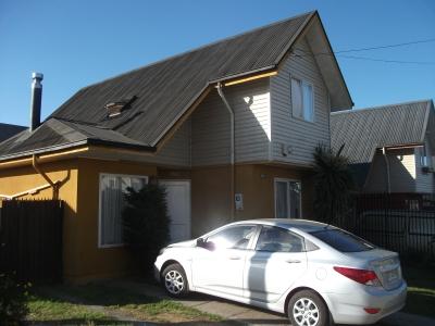 Arriendo de Casa  en Valdivia, sector Villa Alborada, Valor 335.000