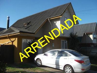 Arriendo de Casa  en Valdivia, sector Villa Alborada, Valor $ 330.000