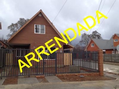 Arriendo de Casa  en Valdivia, sector B° Galilea, Valor $260.000