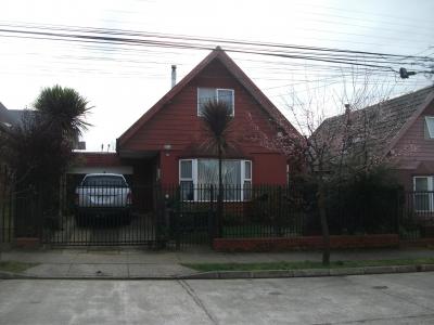 Venta de Casa  en Valdivia, sector Parque Kramer, Valor 105.000.000